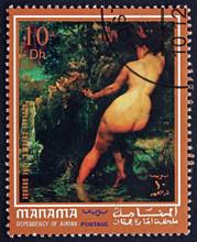 Postage Stamp Manama 1972 The ...