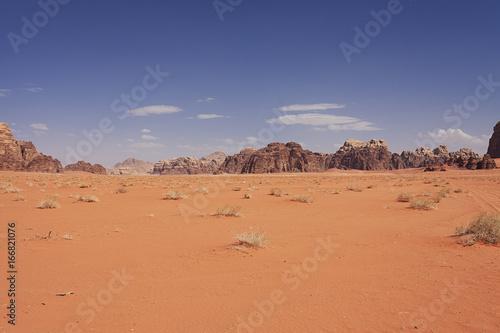 Recess Fitting Middle East Exploring Wadi Rum Jordan