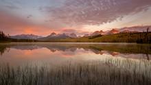 Little Redfish Lake Sunrise In...