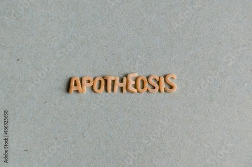 Photo Apotheosis word