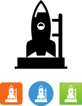 Launch Pad Icon - Illustration