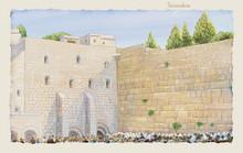Western Wall Jerusalem, Prayer...