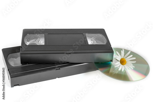 Fotografia, Obraz  Videotapes and laser disk
