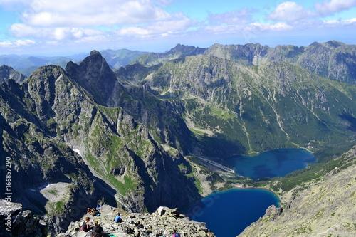Plakat Góry Tatry Widok Z Rysów