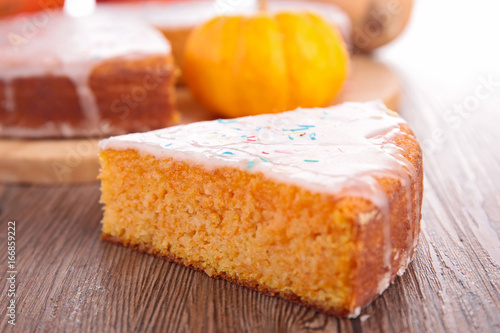 Photo  pumpkin pie