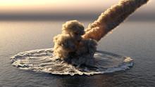Meteorite Falls Into The Ocean...