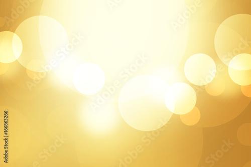 Photo  金色のボケ 光 背景