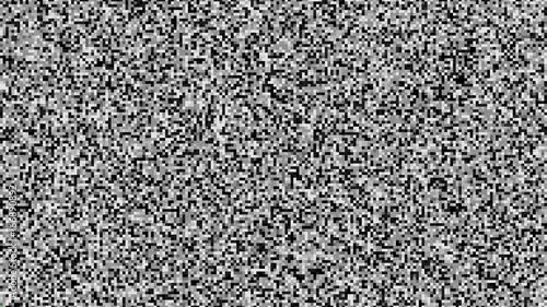 Pixel Noise Vector Vhs Glitch Texture Tv Screen Static Error