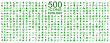 Set Of 500 Ecology Icons – S...