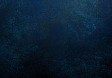 Blue Dark Stone Or Slate Wall....