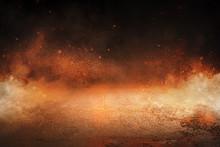 Hintergrund - Feuer - Lava