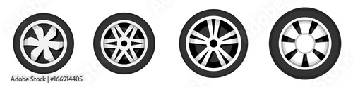 Photo Wheel disk with tyre