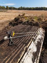 Trailer Delivering Soil And Pl...