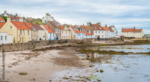 Fotografia  Scenic sight in Pittenweem, in Fife, on the east coast of Scotland
