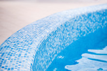 Beautiful Curved Edge Of A Swimming Pool