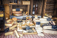 All Sort Of French Cheeses Fro...