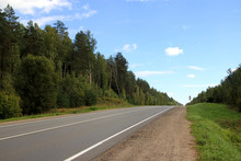 Highway In The Countryside