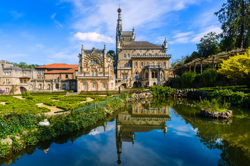 Palace of bussaco. Coimbra. Portugal