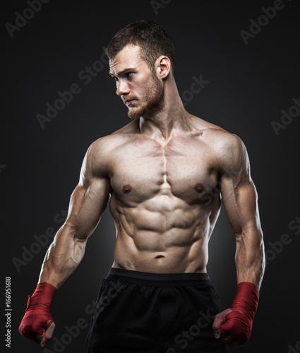 Obrazy MMA   mma-fighter-got-ready-for-the-fight