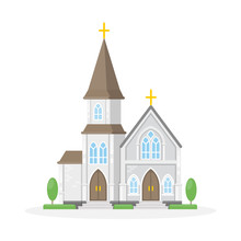Isolated Christan Church.