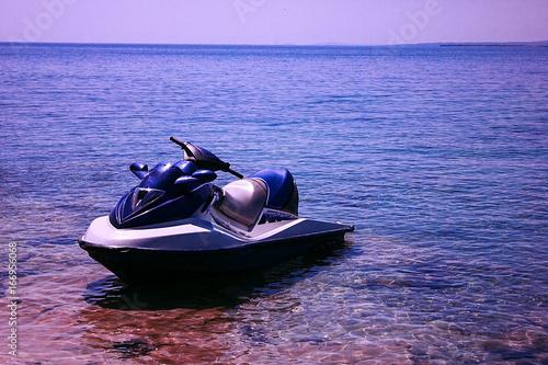 Foto op Aluminium Water Motor sporten jet ski