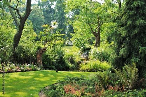 Jardin des Plantes (Botanical Garden) of Nantes, Loire Atlantique, Pays de la Lo Canvas Print