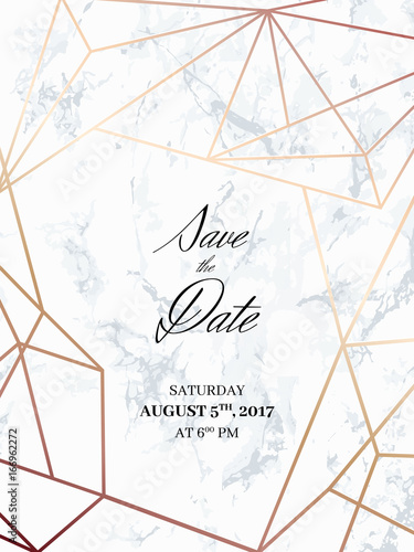 Save The Date Design Template Invitation To A Holiday Party White