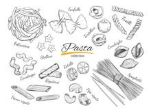 Italian Pasta Set. Different T...