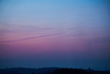 Sky In The Blue Hour With Vivi...