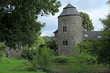 canvas print picture castle Haus zum Haus in Ratingen Germany
