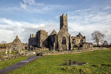 Quin Abbey, County Clare, Irel...