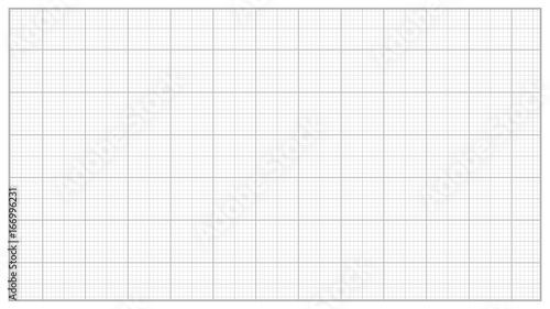 Fotografiet Millimeter Paper Vector