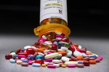 A Prescription Pill Bottle Spi...