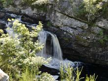 Rogie Falls Wasserfall Schottland