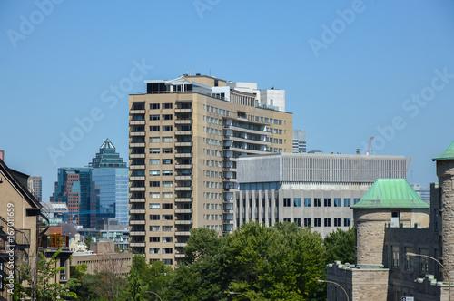 Fotografia  Modern condo buildings in downtown Montreal, Canada