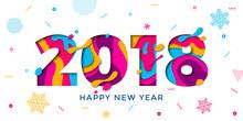 2018 Happy New Year Greeting C...
