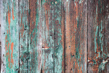 Old Wood Painted Background