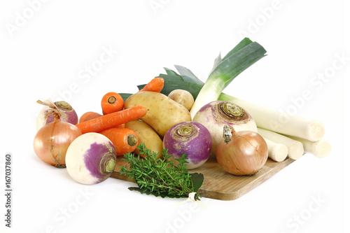 Légumes pour un pot-au-feu