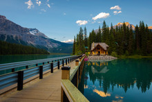 Emerald Lake Lodge In Yoho National Park, Canada