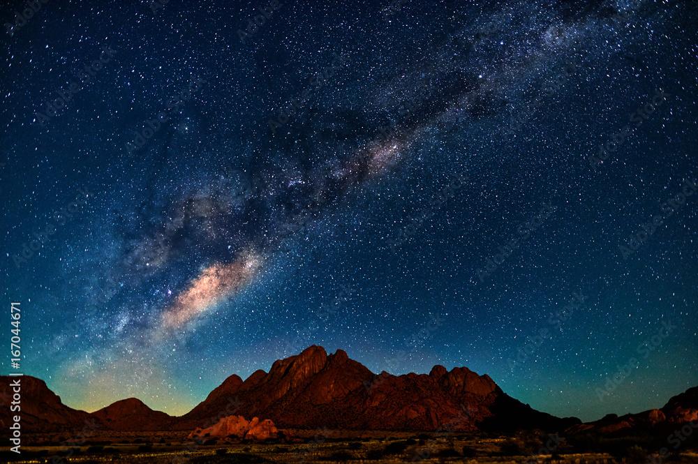 Fototapeta Milky Way in Namibia
