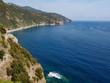 Cinque Terre coast from Corniglia