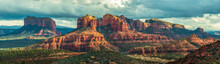 Mountain Panorama In Sedona, A...