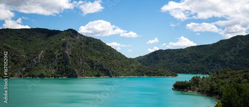 Spoed Foto op Canvas Canada Lac de liguerre de Cinca Aragon Espagne
