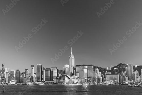 Skyline of Hong Kong city Poster