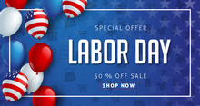 Labor Day Sale Promotion Adver...