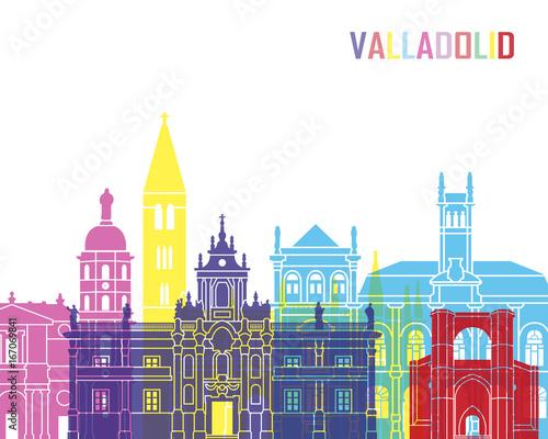 Valladolid skyline pop