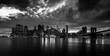 New York Skyline black and white