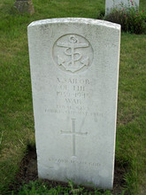 Grave And Headstone Of An Unkn...