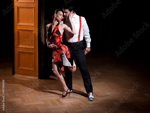 Obraz na plátně Argentinian Tango Dance