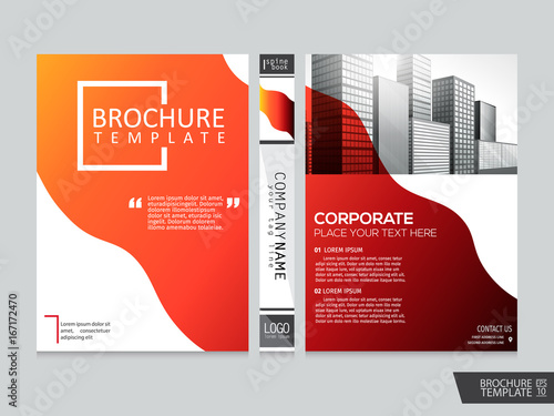 apstract brochure template portfolio layout background cover book